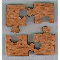 4-Piece Puzzle - The Original