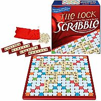 Scrabble Tile Lock