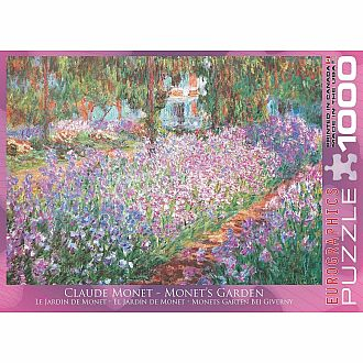 Monet's Garden by Claude Monet