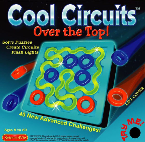 cool circuits over the top eureka puzzles rh eurekapuzzles com Electric Circuit Circuit Tracer