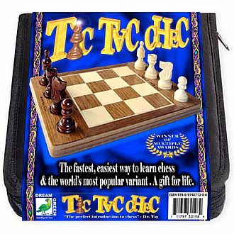 Tic Tac Chec with New Travel Case