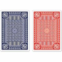 Premium Playing Cards - Red and Blue