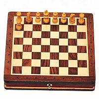 Wood Chess Magnetic 7.5 inch