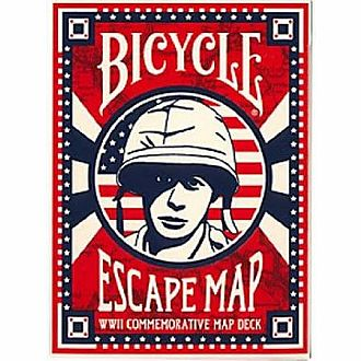 Bicycle Escape Map Cards