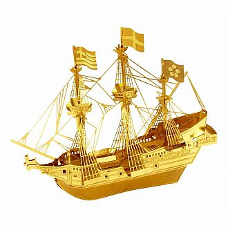 Metal Earth: Golden Hind Ship