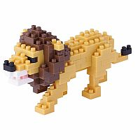 Nanoblock Small Lion