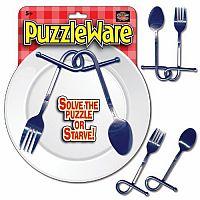 Puzzle Ware -  Fork and Spoon