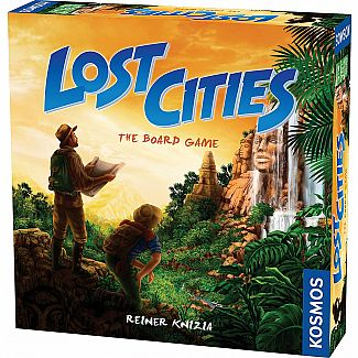 Lost Cities Boardgame