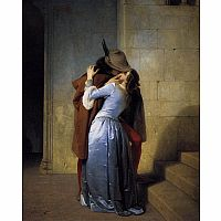 The Kiss by Hayez