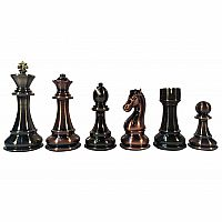 "Chessmen: 4.25"" Silver/Bronze"