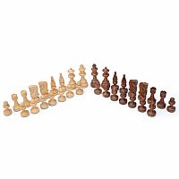 "Chessmen: 3.5"" Sheesham Russia"
