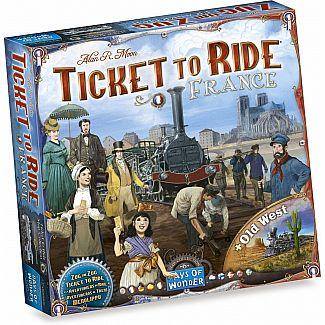Ticket to Ride France & The Ol