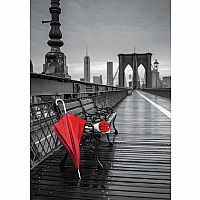 Red Umbrella, Brooklyn Bridge