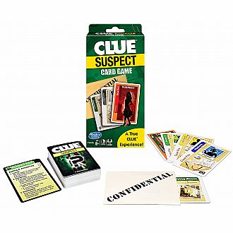 Clue Suspects Card Game