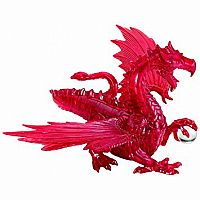 3D Crystal: Dragon Red