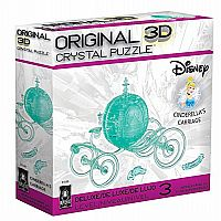 3D Crystal: Cinderella Carriage