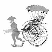 Metal Earth: Japanese Rickshaw