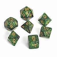 Chessex Dice: Golden Recon