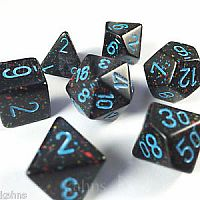 Chessex Dice: Blue Stars