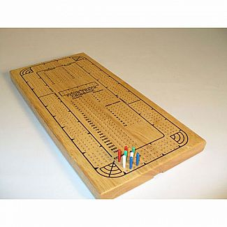 Cribbage - 4 Track Wood