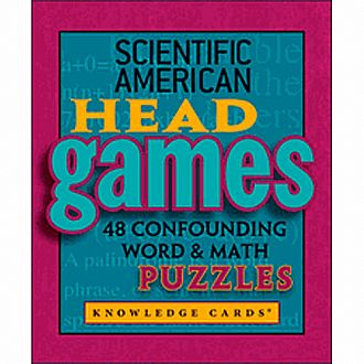 Scientific American Head Games Knowledge Cards