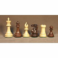 "Chess Pieces 4"" Sheesham"