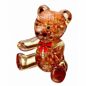 3D Crystal Teddy Bear