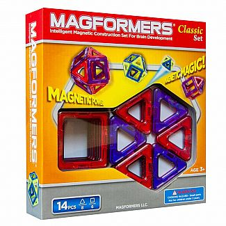 Magformers Classic 14-Piece Set