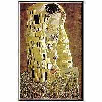 Klimt The Kiss Metallic Finish