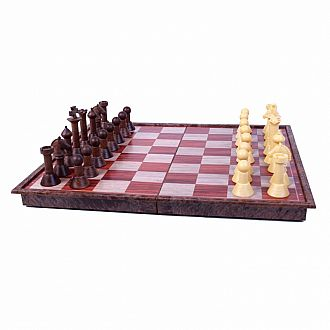 Woody Magnetic Chess - 11 folmagnetic