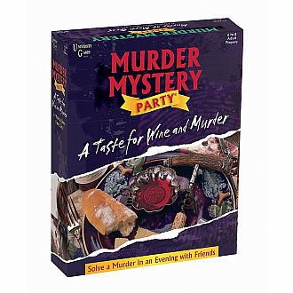 A Taste for Wine and Murder: Murder Mystery Party