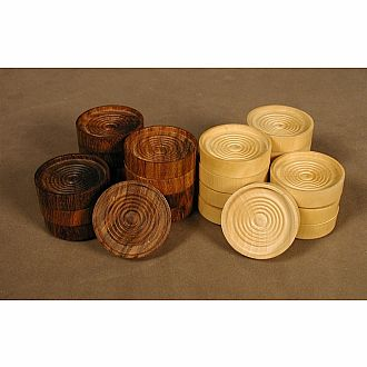 Sheesham Boxwood Checkers
