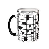 Crossword Mug