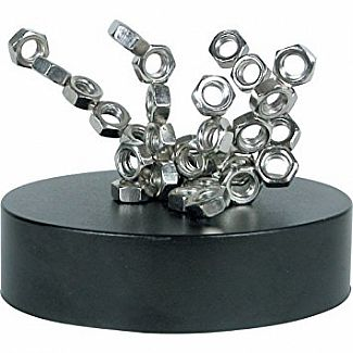 Magnetic Sculpture (Nuts)
