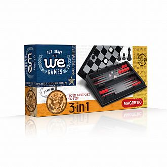 3-in-1 Combo Chess (Magnetic)
