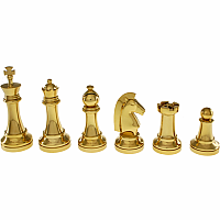 Gold Chess Puzzle Set Limited