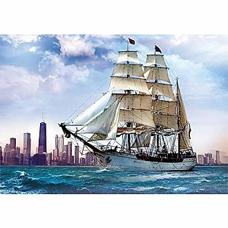Sailing Towards Chicago (Trefl - 500pc)