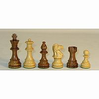 "Chessmen: 3.75"" Lardy Sheesham"