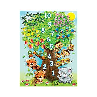 Counting Tree - 36 pc (Springbok - 36pc)