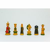 "Chessmen: 3.25"" Japanese"