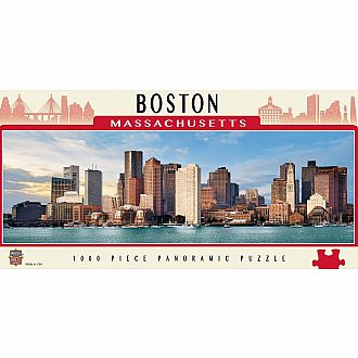 Boston Panoramic Puzzle