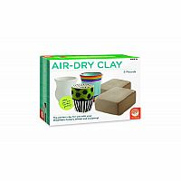 Air-Dry Clay 5lb Pottery Wheel Refill Kit