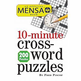 Mensa 10 minute Crossword