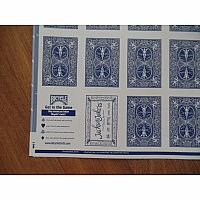 Uncut Playing Cards - Blue
