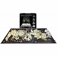 Game Of Thrones - Westeros 4D Puzzle
