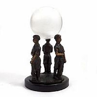 Golfer Caddy Globe Holder - MOVA Globe Accessory