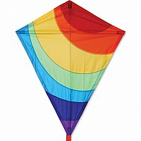 "25"" Radiant Rainbow Kite"
