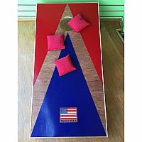Wooden Cornhole w/ storage