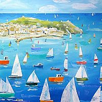Claire Henley Sailing Round the Mount Wooden Puzzle