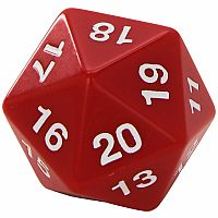 55mm Countdown D20 RED